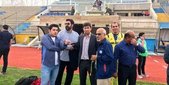 رضاییان: استادیوم جم هفته آینده آماده میشود
