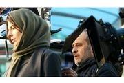 لورفتن صحنهای هیجانانگیز از فیلم جدید «لیلا حاتمی» / عکس