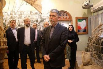 بازدید وزیر ارشاد از موزه سینما