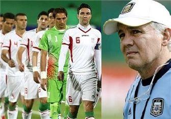 نظر سرمربی آرژانتین درباره تیم ایران