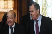 تاکید وزرای خارجه روسیه و فرانسه بر اتخاذ گامهای ویژه حفظ برجام