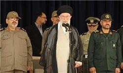 رهبر انقلاب: ایستادگی ملت ایران آمریکا را عصبانی کرده است