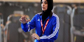مربی زن ایرانی در تیم خارجی