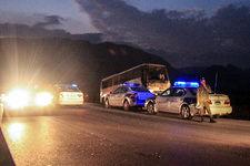واژگونی اتوبوس مسافربری در اتوبان تهران –کرج