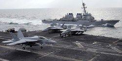 ناوهای هواپیمابر آمریکایی زیر ذره بین چین