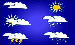 وقوع توفان تندری در برخی استانها