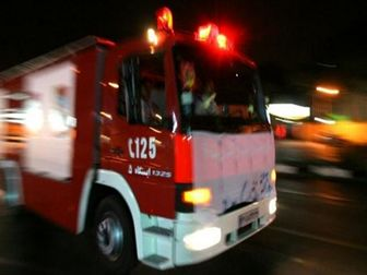 اعزام ۵۰ آتشنشان به ورزشگاه آزادی