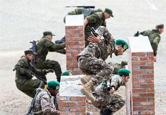 تکاوران ندسا رتبه سوم رشته تهاجم دریابرد در مسابقات نظامی ۲۰۱۸ را کسب کردند