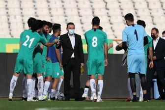 آخرین تمرین تیم ملی فوتبال قبل از بازی با سوریه