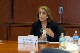 شیرین هانتر: لابی اسرائیل در کنگره، مخالف هستهای شدن عربستان است