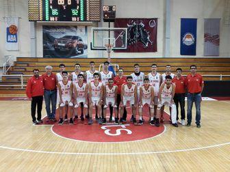 شکست تیم ملی بسکتبال نوجوانان در نخستین گام