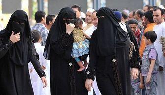 عکس جنجالی از بازی حرام زنان عربستان در مسجد الحرام