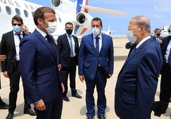 نشست سران لبنان و فرانسه در کاخ بعبدا آغاز شد