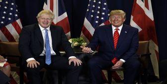 دخالت ترامپ در انتخابات انگلیس