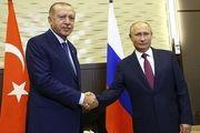 پوتین دوشنبه با اردوغان دیدار می کند