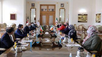 دیدار و گفتوگوی وزرای امور خارجه ایران و ایرلند