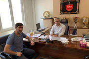 شکسته شدن کاپ جام حذفی در باشگاه پرسپولیس!