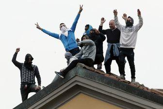 شورش کرونایی در زندان های ایتالیا قربانی گرفت