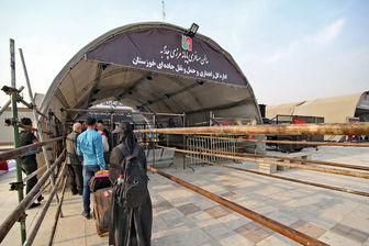 آخرین وضعیت مرز شلمچه برای تردد زائران اربعین+ عکس