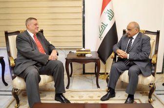 نماینده سازمان ملل به دیدار نخست وزیر عراق رفت