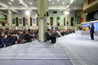 دومین روز مراسم سوگواری امام علی(ع) در حضور رهبر معظم انقلاب برگزار شد