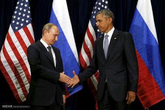 دیدار یک ساعته «ولادیمیر پوتین» و «باراک اوباما» در چین