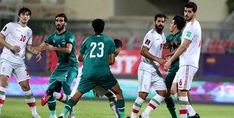 بازیکنان تیم ملی ایران مقابل عراق استرس داشتند