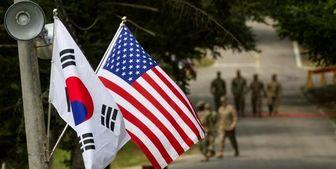 آزمایش سربازان آمریکایی پیش از ورود به پایگاهشان در کره جنوبی