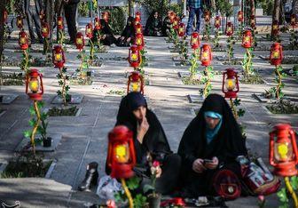 حضور میلیونی مردم تهران و سراسر کشور در آرامستان بهشت زهرا(س)