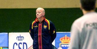 انتخاب سرمربی تیم ملی والیبال اسپانیا