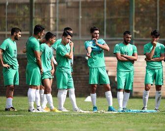 غیبت ۲ بازیکن تیم ملی فوتبال امید ایران مقابل سوریه