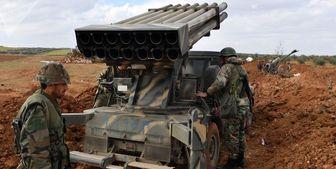 حمله راکتی ارتش سوریه به ترویستها