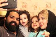 تبریک ویژه «رضا صادقی» برای دخترخانمش/ عکس
