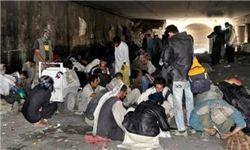آتش زدن چادر معتادان در محله هرندی کار نادرستی بود