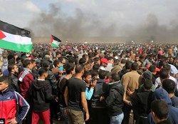 مردم رام الله علیه آمریکا تظاهرات کردند