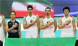 تیم ملی والیبال ایران اول شد