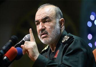 واکنش سردار سلامی به تهدیدات حکام آمریکایی/موشکهای ایران پیشرفته شدند