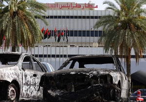 سرنگونی پهپاد ترکیه در فرودگاه طرابلس