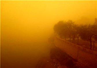 میزان ذرات گرد و غبار در ایلام ۹ برابر حد مجاز