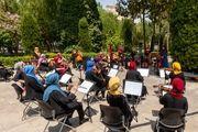 با اجرای ارکستر سمفونیک بانوان «سرزمین مادری» سمفونی «شهرزاد» تماشایی شد/ ادای احترام به کادر درمان