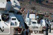 استقرار نیروهای حافظ صلح سازمان ملل در بیروت