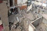ریزش آوار ناشی از گودبرداری در شهرک اندیشه تبریز