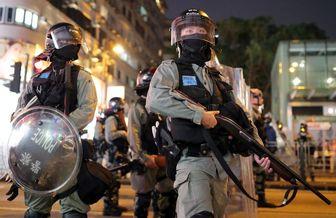 آغاز اعتراضات یک هفتهای هنگکنگیها در وقت ناهار