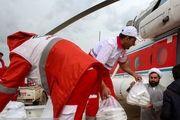 امدادرسانی هوایی به سیلزدگان لرستان/ گزارش تصویری