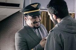 """سقوط هواپیمای """"مهران مدیری"""" و چند بازیگر دیگر! /فیلم"""