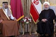 جزئیات دیدار روحانی و امیر قطر