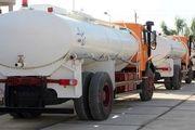 ارسال تانکرهای آبرسان وزارت دفاع به خوزستان