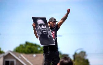 معترضان به نژادپرستی آمریکا زیر نظر دوربین ماموران امنیتی