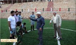 شهید شاطری در مرز اسرائیل + عکس