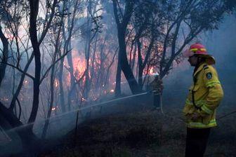 آتش سوزی گسترده در شرق استرالیا